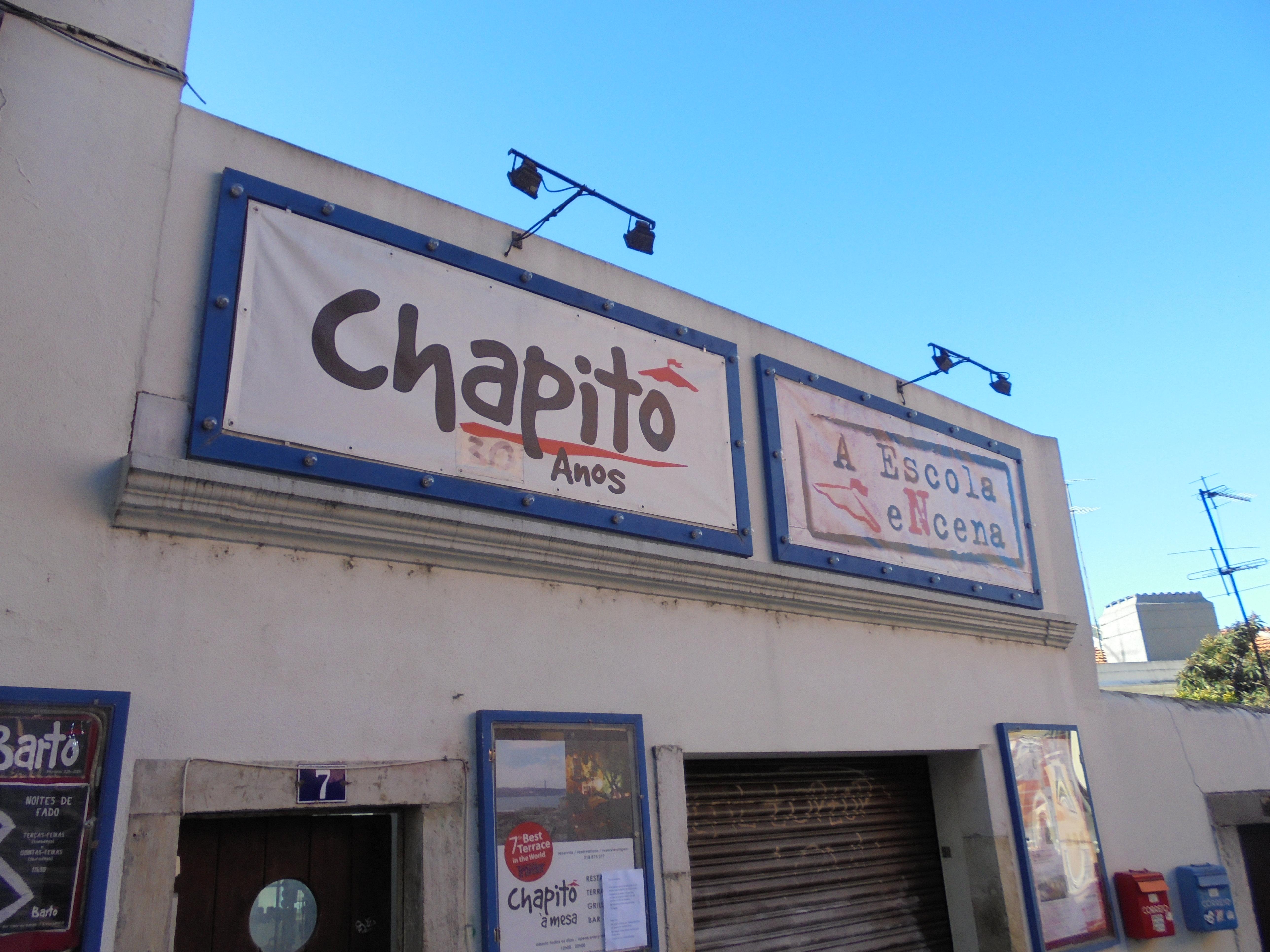 Visita de Estudo ao Chapitô